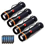Fulighture Linterna LED , Lanternas de Foco Ajustável, Mini Tocha de Mão Ultra...