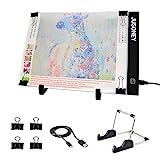 LED Pad para pintura diamante, JUSONEY Mesa de Luz Dibujo A4 USB LED trazado para...