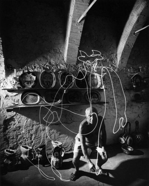 Picasso dibuja un centauro
